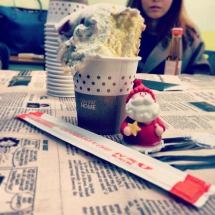 Chopsticks Cake Cup
