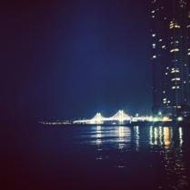 Gwangan Bridge from Hyundae